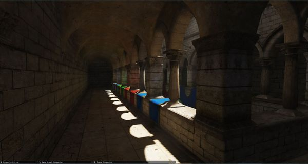 Voxel Cone Tracing for Real-time Global Illumination